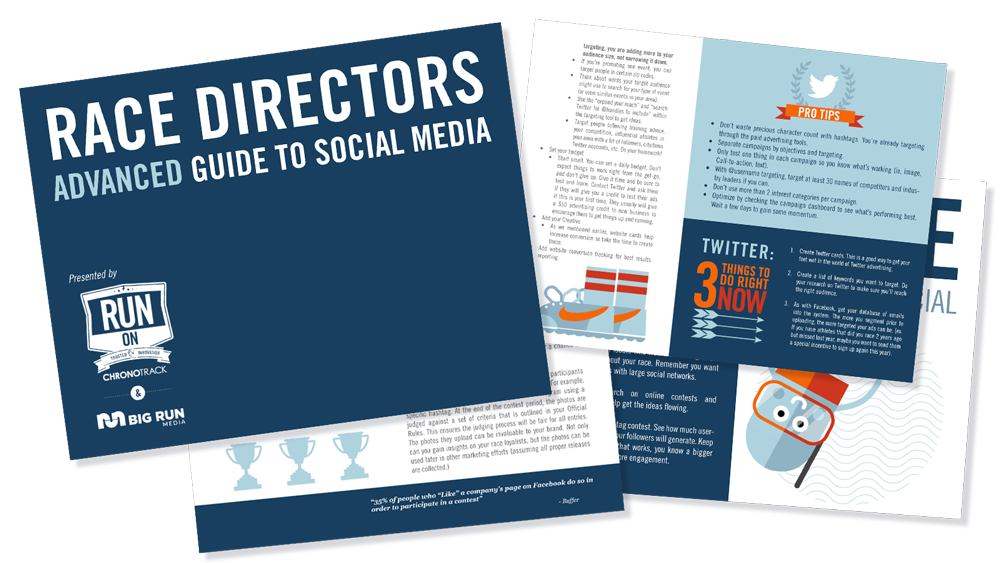Race Directors Advanced Guide to Social Media
